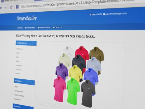 Professional eBay Listing Templates - Finest Design